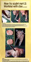 Sculpting tutorial part 2 of 2 by mangakasan