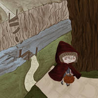 Little Red Riding Hood pic4 by MarisaArtist