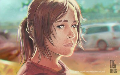 Ellie from The Last Of Us FANART by MarisaArtist