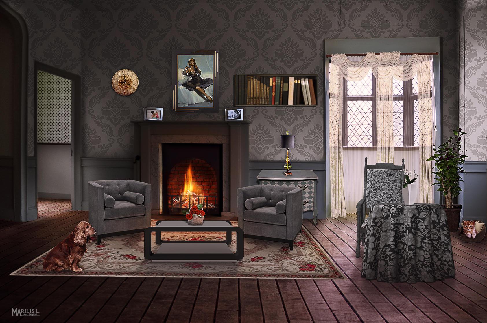Living room by Marilis5604