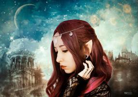 The dream of an elf by Marilis5604