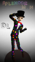 [MMD] Creepypasta - SplendorMan .::DL::. by Laxianne