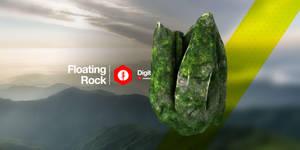 Floating Rock by nenART