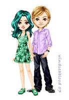 SeraMyu Doll - Nao and Yuhka by WindSeaBlood