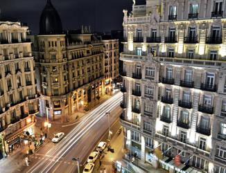 Gran Via - Madrid by manu1993