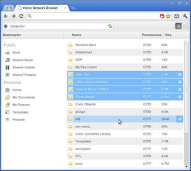 Home Network File Browser by awhite92