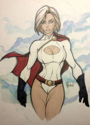 Power Girl by BenNewton