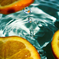 orange drop by e-claude