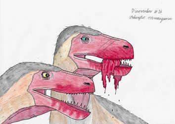 Dinovember 2018 #16 - Utahraptor by Rahonavis70m