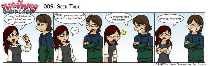 SW: Geek Talk by tazsaints