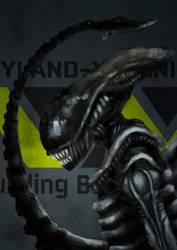 Alien - Fanart by nlfrogger