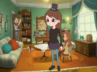 Me in Layton style by nlfrogger