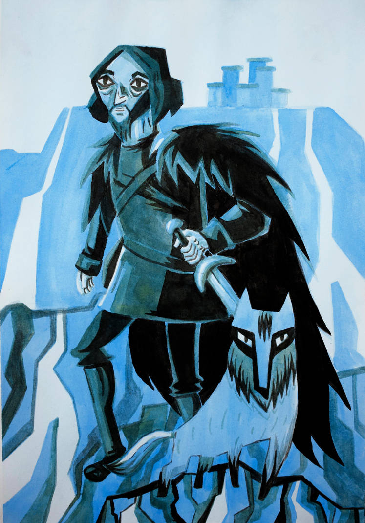 Jon Snow Fanart by nlfrogger