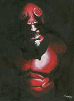 Hellboy by HaydenDavis