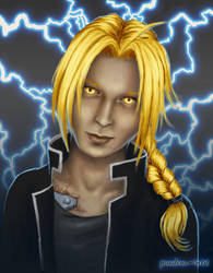 Ed Elric by Pandora-Gold
