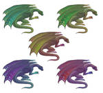Firelizard Color variant by Pandora-Gold