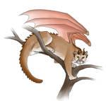 Cougar dragon by Pandora-Gold