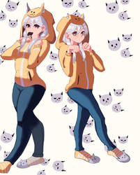 Kitty Twins. by MisterDharc