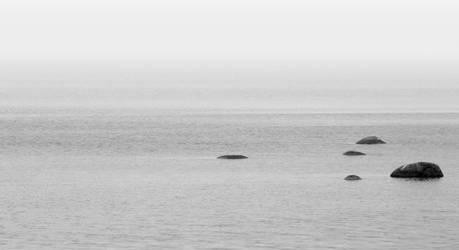 Eternal ocean with spots by kolibanat