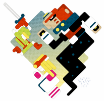 Zelda shapes by FlashBros