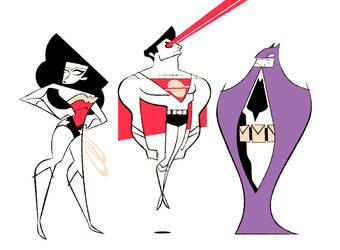 DC Trinity by FlashBros