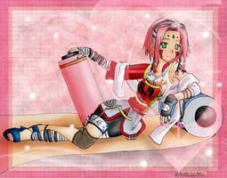 The Ultimate Outfit: Sakura by AnimeSenko