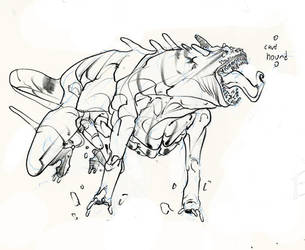 cave hound .. woof! :D by Selkirk