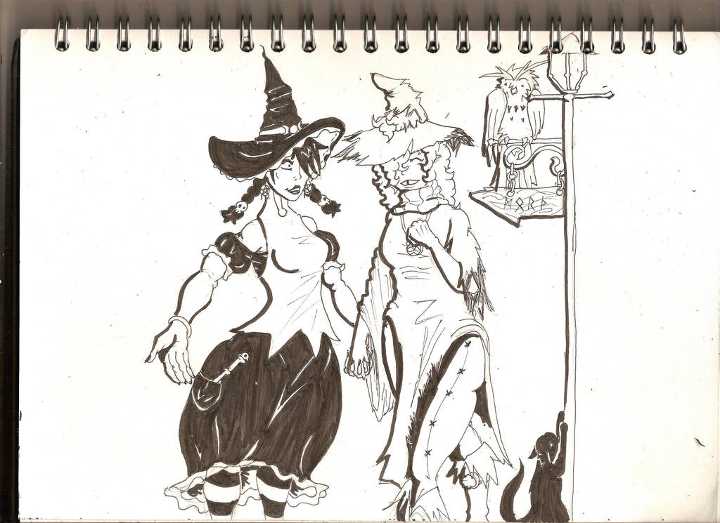 double Witches by Morth-the-Raven