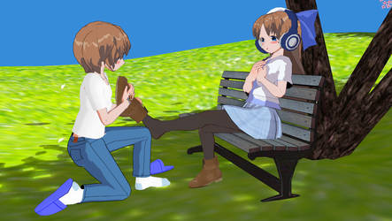 A Relaxing Afternoon Part 6 End. by MamoruFumio