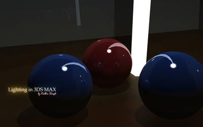 3DS Max Lighting experiment by kulbirsingh