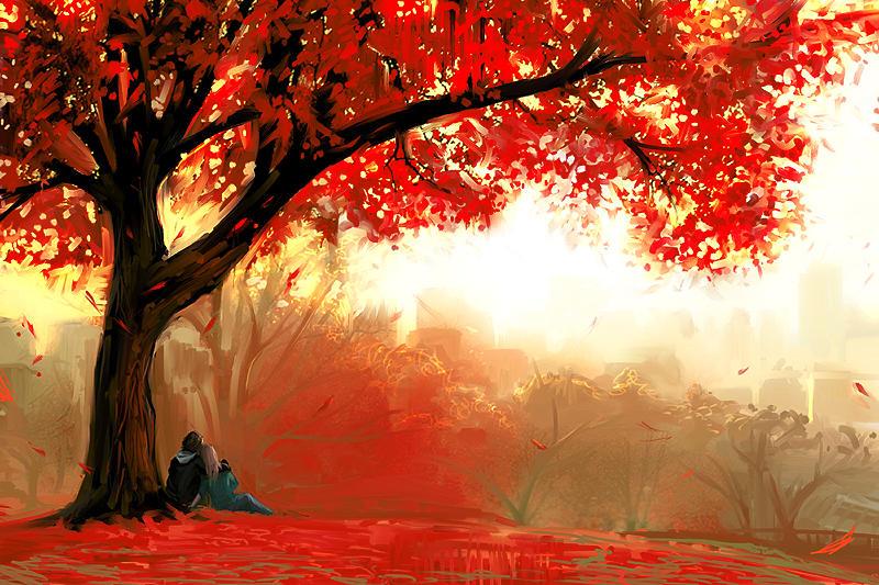 Red Love by NonRedRobot