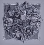 G o t h a M (Sketch) by Studiom6