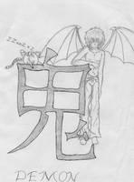 demon by kusanagi60