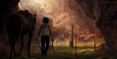 Beyond...Two Souls (Quantic Dream) Navajo 03 by djahal