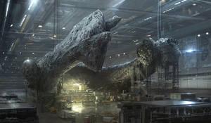 Alien 5 Factory by djahal