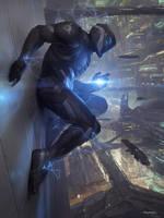 Galaxy Saga (applibot) Berserker Of Destruction by djahal