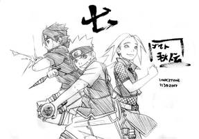 Team 7 (Naruto Akiden) by Link2Time