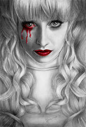 In the end we all bleed red... by Joanna-Vu