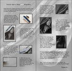 Tutorial - How to do white stray hairs by Joanna-Vu