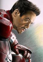 Tony Stark by Joanna-Vu