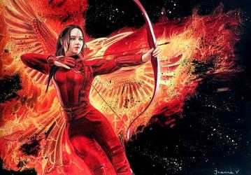 Katniss by Joanna-Vu