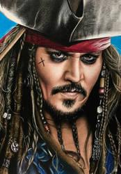 Captain Jack Sparrow by Joanna-Vu