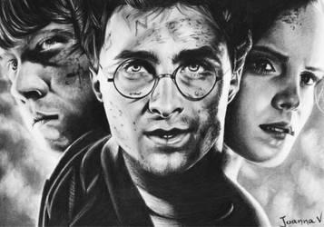 Harry Potter and friends by Joanna-Vu
