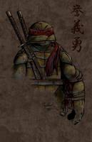 Leo Grunge by Ninja-Turtles