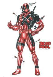 Deadpool - Wade Wilson by kiborgalexic