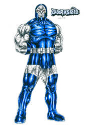 Darkseid - Uxas by kiborgalexic