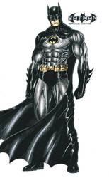 Batman - Bruce Wayne by kiborgalexic
