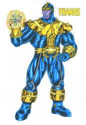 Thanos by kiborgalexic