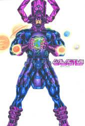 Galactus by kiborgalexic