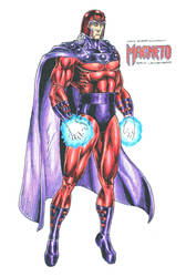 Magneto - Erik Lehnsherr by kiborgalexic